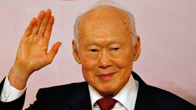 Death of Singapore Leader Lee Kuan Yew on 23 March 2015