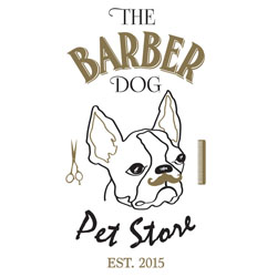 Dreams The Barber Dog Logo