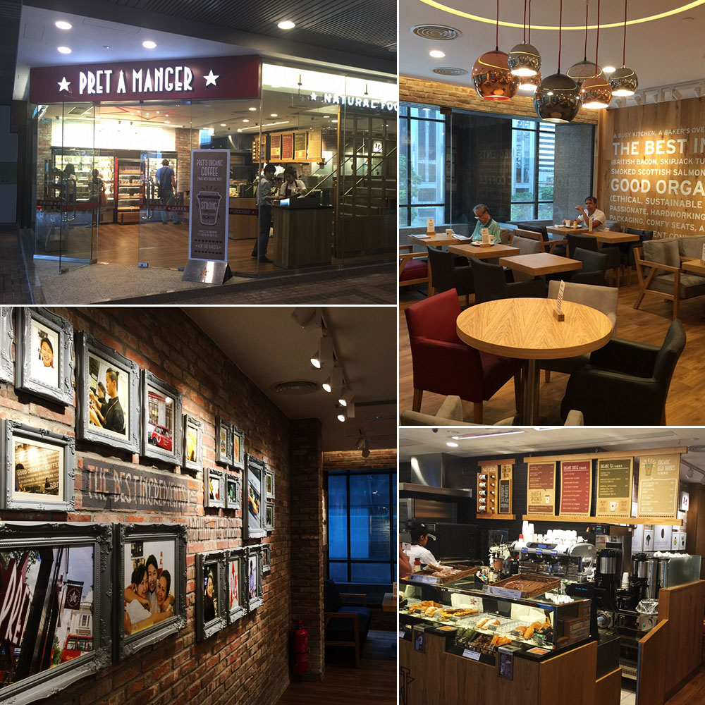 PRET A MANGER Wan Chai Shop Relocation