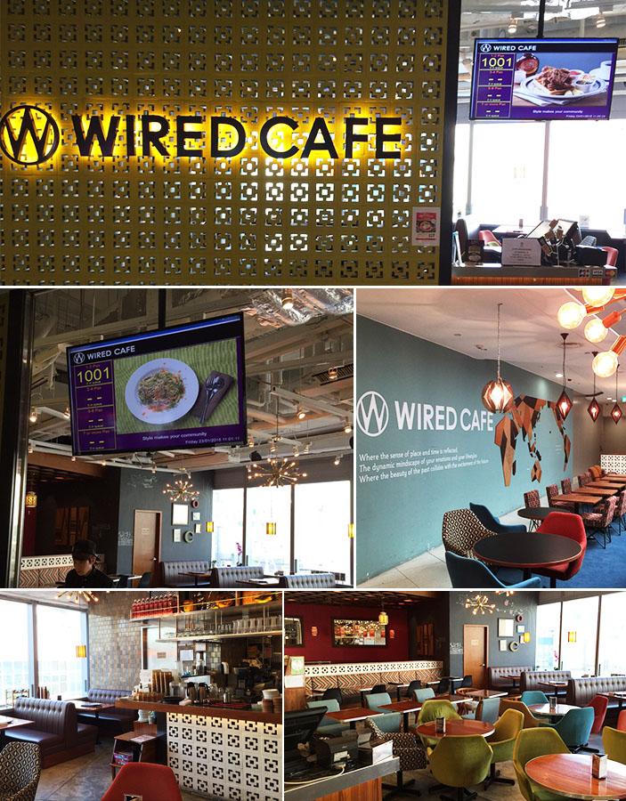 Epoint Quick Queue (ESQQ) installed in WIRED CAFÉ